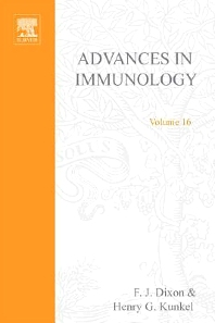 Advances in Immunology - 1st Edition - ISBN: 9780120224166, 9780080577920