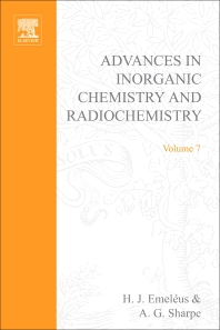 Advances in Inorganic Chemistry and Radiochemistry - 1st Edition - ISBN: 9780120236077, 9780080578569