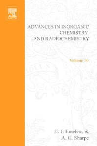 Advances in Inorganic Chemistry and Radiochemistry - 1st Edition - ISBN: 9780120236107, 9780080578590