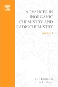 Advances in Inorganic Chemistry and Radiochemistry - 1st Edition - ISBN: 9780120236121, 9780080578613