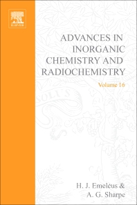Advances in Inorganic Chemistry and Radiochemistry - 1st Edition - ISBN: 9780120236169, 9780080578651
