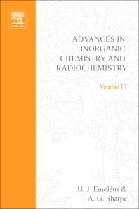 Cover image for Advances in Inorganic Chemistry and Radiochemistry