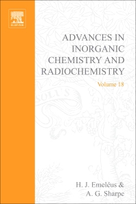 Advances in Inorganic Chemistry and Radiochemistry - 1st Edition - ISBN: 9780120236183, 9780080578675