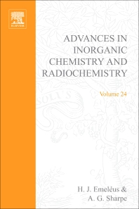 Advances in Inorganic Chemistry and Radiochemistry - 1st Edition - ISBN: 9780120236244, 9780080578736