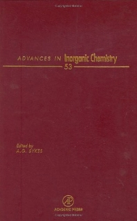 Cover image for Advances in Inorganic Chemistry