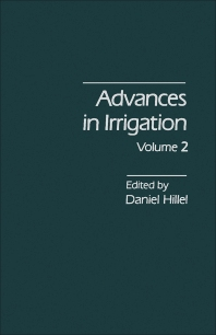 Cover image for Advances in Irrigation