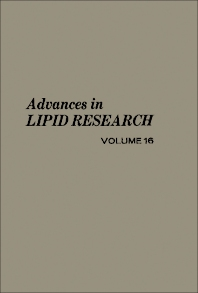 Advances in Lipid Research - 1st Edition - ISBN: 9780120249169, 9781483215389