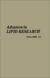 Cover image for Advances in Lipid Research