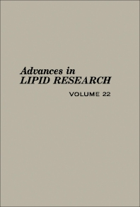 Advances in Lipid Research - 1st Edition - ISBN: 9780120249220, 9781483215433
