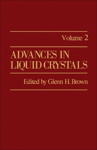 Advances in Liquid Crystals - 1st Edition - ISBN: 9780120250028, 9781483191348