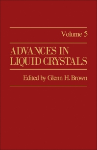 Advances in Liquid Crystals - 1st Edition - ISBN: 9780120250059, 9781483191379