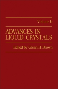 Advances in Liquid Crystals - 1st Edition - ISBN: 9780120250066, 9781483191386