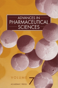 Book Series: Advances in Pharmaceutical Sciences