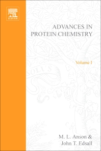 Advances in Protein Chemistry - 1st Edition - ISBN: 9780120342013, 9780080581743