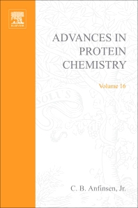 Advances in Protein Chemistry - 1st Edition - ISBN: 9780120342167, 9780080581897