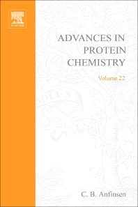 Advances in Protein Chemistry - 1st Edition - ISBN: 9780120342228, 9780080581958