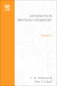 Advances in Protein Chemistry - 1st Edition - ISBN: 9780120342273, 9780080582009