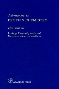 Linkage Thermodynamics of Macromolecular Interactions, 1st Edition,Frederic Richards,David Eisenberg,Peter Kim,Enrico Di Cera,ISBN9780120342518