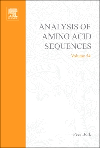 Analysis of Amino Acid Sequences - 1st Edition - ISBN: 9780120342549, 9780080493367