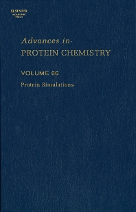 Protein Simulations, 1st Edition,Valerie Daggett,ISBN9780120342662