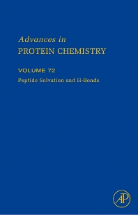 Peptide Solvation and H-bonds - 1st Edition - ISBN: 9780120342723, 9780080463568
