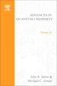 Advances in Quantum Chemistry - 1st Edition - ISBN: 9780120348268, 9780080582511