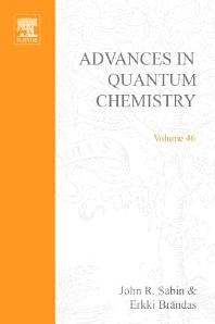 Advances in Quantum Chemistry, 1st Edition,Remigio Cabrera-Trujillo,John Sabin,ISBN9780120348466