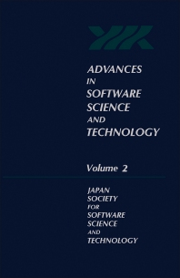 Advances in Software Science and Technology - 1st Edition - ISBN: 9780120371020, 9781483215709