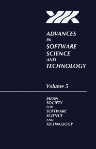 Advances in Software Science and Technology - 1st Edition - ISBN: 9780120371051, 9781483294322