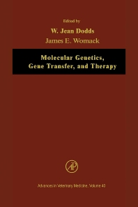 Cover image for Molecular Genetics, Gene Transfer, and Therapy