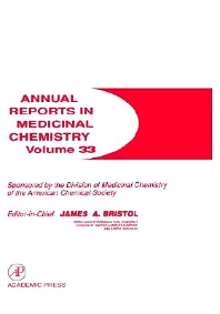 Annual Reports in Medicinal Chemistry - 1st Edition - ISBN: 9780120405336, 9780080583778