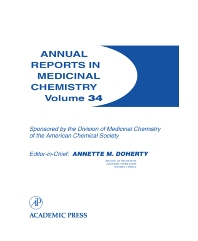 Annual Reports in Medicinal Chemistry - 1st Edition - ISBN: 9780120405343, 9780080583785