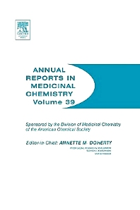 Annual Reports in Medicinal Chemistry, 1st Edition,Annette Doherty,ISBN9780120405398