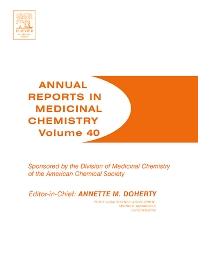 Annual Reports in Medicinal Chemistry, 1st Edition,Annette Doherty,ISBN9780120405404