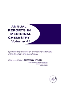 Annual Reports in Medicinal Chemistry, 1st Edition,Anthony Wood,ISBN9780120405411