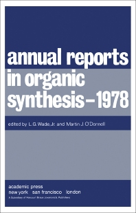 Annual Reports in Organic Synthesis — 1978 - 1st Edition - ISBN: 9780120408092, 9781483104096