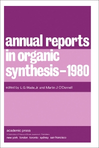 Annual Reports in Organic Synthesis — 1980 - 1st Edition - ISBN: 9780120408115, 9781483104102