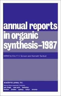 Cover image for Annual Reports in Organic Synthesis — 1987