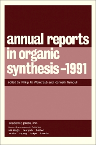 Cover image for Annual Reports in Organic Synthesis — 1991