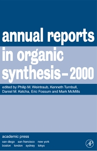 Annual Reports in Organic Synthesis, 2000, 1st Edition,Kenneth Turnbull,Daniel Ketcha,Christian Fossum,Gary Morrow,Philip Weintraub,ISBN9780120408306