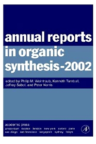 Cover image for Annual Reports in Organic Synthesis (2002)