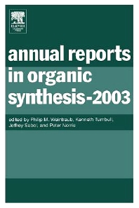 Cover image for Annual Reports in Organic Synthesis (2003)