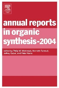 Cover image for Annual Reports in Organic Synthesis