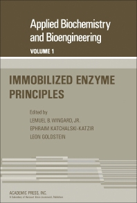 Cover image for Immobilized Enzyme Principles