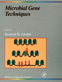 Cover image for Microbial Gene Techniques, Part B