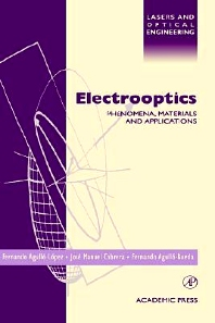 Electrooptics, 1st Edition,Jose Cabrera,Fernando Agullo-Rueda,ISBN9780120445127