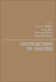 Contributions to Analysis - 1st Edition - ISBN: 9780120448500, 9781483261164