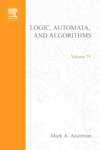 Cover image for Logic, Automata, and Algorithms