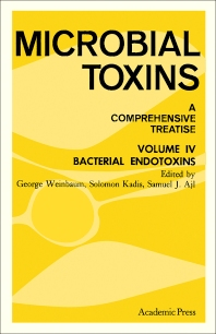 Bacterial Endotoxins - 1st Edition - ISBN: 9780120465040, 9781483215884