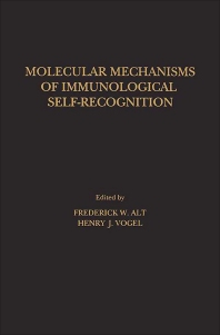 Cover image for Molecular Mechanisms of Immunological Self-Recognition